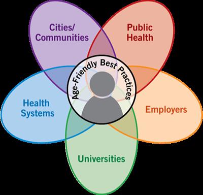 Age Friendly Ecosystem Diagram