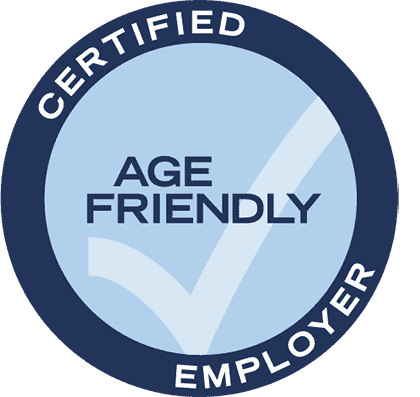 Certified Age Friendly Employer Seal